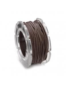 Вощеный шнур 2 мм, на блистере, цвет коричневый, 2 м, Knorr prandell (Германия)