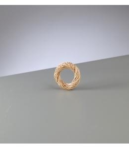 Заготовка венок миниатюрный плетеный, очищенные ивовые прутья, 5 см, EFCO (Германия)