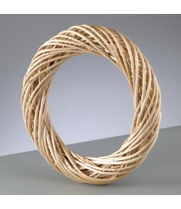 Заготовка венок плетеный, очищенные ивовые прутья, 25 см, EFCO (Германия)