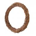 Заготовка венок декоративный плетеный, натуральная лоза 30 см, EFCO Германия