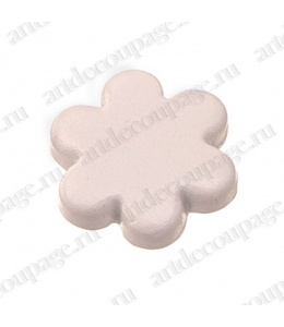 "Кнопки для скрапбукинга ""Цветок"" белый, 8 мм, 25 шт., Knorr prandell (Германия)"