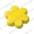 "Кнопки для скрапбукинга ""Цветок"" желтый, 8 мм, 25 шт., Knorr prandell (Германия)"