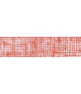 Лента из джута, цвет оранжевый, 50 мм, 2 м, Knorr prandell (Германия)