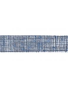 Лента из джута, цвет синий, 50 мм, 2 м, Knorr prandell (Германия)
