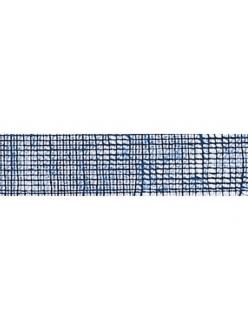 Лента из джута синяя, 50 мм, 2 м, Knorr prandell