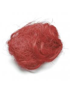 Сизаль (волокно) красный, 25 г, Knorr prandell (Германия)