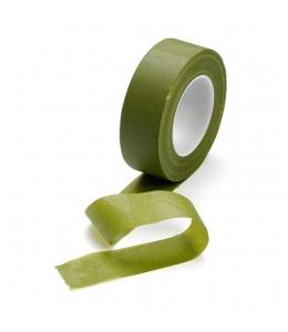 Флористическая лента, тейп-лента, цвет оливково-зеленый, 24 мм х 27,5 м,  Knorr Prandell (Германия)