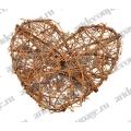 Заготовка Сердце, натуральная лоза, 20 см, Knorr Prandell (Германия)