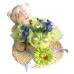 Соломенная шляпка декоративная 10 см, Knorr Prandell Германия