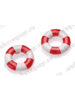 Декоративные элементы Спасательный круг с клеевым креплением 2,5 см, 6 шт. Knorr prandell