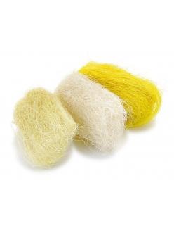 Сизаль цветной, оттенки желтого, 3 цвета по 10г, Knorr prandell (Германия)