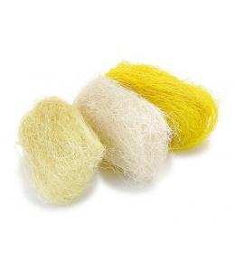 Сизаль декоративный цветной, оттенки желтого, 3 цвета по 10г, Knorr prandell (Германия)