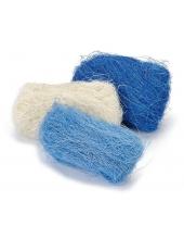 Сизаль декоративный цветной, оттенки синего, 3 цвета по 10г, Knorr prandell (Германия)