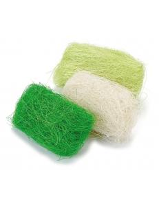 Сизаль декоративный цветной, оттенки зеленого, 3 цвета по 10г, Knorr prandell (Германия)