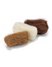 Сизаль декоративный цветной, оттенки коричневого, 3 цвета по 10г, Knorr prandell (Германия)