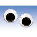 Глаза для игрушек круглые с подвижными зрачками 1,2 см, 2 штуки, Knorr prandell (Германия)