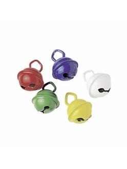 Колокольчики декоративные Бубенчики разноцветные, 11 мм, 5 шт., Knorr prandell