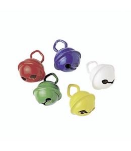 """Колокольчики декоративные """"Бубенчики разноцветные"""", 11 мм, 5 шт., Knorr prandell"""
