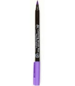 Акварельный маркер кисточка Koi 238, цвет лавандовый, SAKURA Япония