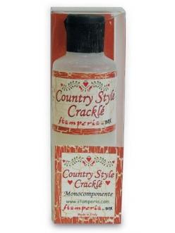 Кракелюрный лак Crackle Country Style однокомпонентный акриловый, Stamperia, 80 мл