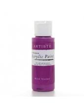 """Краска акриловая Artiste 763223 """"Фиолетовый"""", 59 мл, Docrafts (Великобритания)"""