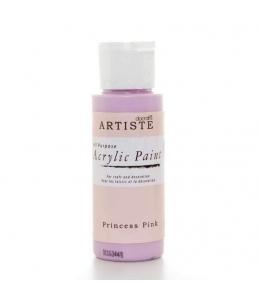 """Краска акриловая Artiste 763226 """"Светло-розовый"""", 59 мл, Docrafts (Великобритания)"""