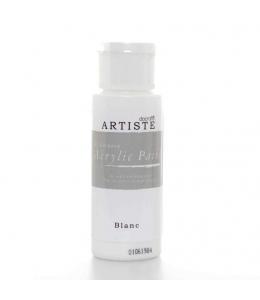 """Краска акриловая Artiste 763260 """"Белый"""", 59 мл, Docrafts (Великобритания)"""