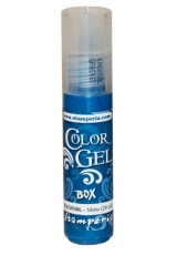 "Краска-гель объемная ""Color Gel"" KAG01BL, цвет темно-голубой, Stamperia (Италия), 20 мл"