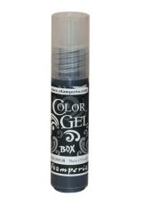 "Краска-гель объемная ""Color Gel"" KAG01GR, цвет черный, Stamperia (Италия), 20 мл"
