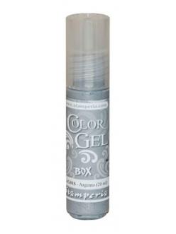 Краска-гель объемная Color Gel KAG01S, цвет серебро, Stamperia (Италия), 20 мл