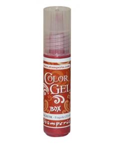 """Краска-гель объемная """"Color Gel"""" KAG01TR, цвет клубничный, Stamperia (Италия), 20 мл"""