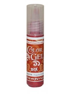 Краска-гель объемная Color Gel, цвет клубничный, Stamperia  KAG01TR, 20 мл