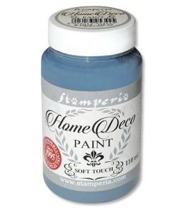 Краска на меловой основе Home Deco KAH11, цвет голубой, 110 мл, Stamperia