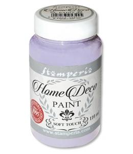 Краска на меловой основе Home Deco KAH12, цвет бледно-сиреневый, 110 мл, Stamperia