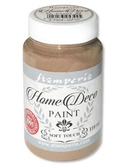 Краска меловая Home Deco, цвет бежевый, 110 мл, Stamperia