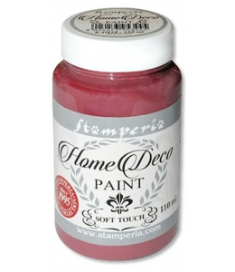 Краска на меловой основе Home Deco KAH18, цвет бургундия, 110 мл, Stamperia