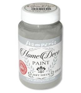 Краска на меловой основе Home Deco KAH22, цвет классический серый, 110 мл, Stamperia