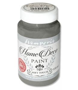 Краска на меловой основе Home Deco KAH23, цвет дымчатый серый, 110 мл, Stamperia