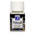 Краска по стеклу Vitrail Lefranc Bourgeois 004, укрывистый белый, 50 мл