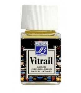 Краска по стеклу Vitrail Lefranc Bourgeois 010, бесцветный, 50 мл