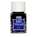 Краска по стеклу Vitrail Lefranc Bourgeois 025, синий, 50 мл