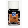 Краска по стеклу Vitrail Lefranc Bourgeois 201, оранжевый, 50 мл