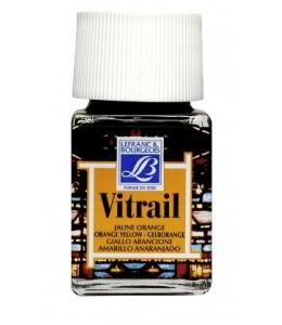 Краска по стеклу Vitrail Lefranc Bourgeois 231, желто-оранжевый, 50 мл
