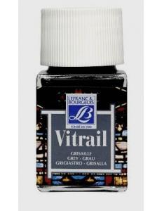 Краска по стеклу Vitrail Lefranc Bourgeois 251, серый, 50 мл