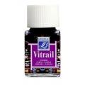 Краска по стеклу Vitrail Lefranc Bourgeois 350, пурпурный, 50 мл
