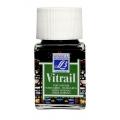 Краска по стеклу Vitrail Lefranc Bourgeois 534, теплый зеленый, 50 мл
