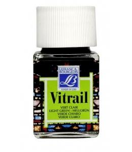 Краска по стеклу Vitrail Lefranc Bourgeois 556, светло-зеленый, 50 мл