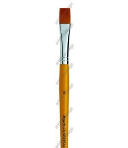 Кисть плоская Universal ровный край № 16, синтетика, Marabu (Германия)