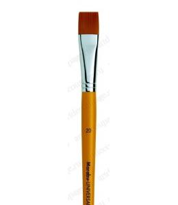 Кисть плоская Universal ровный край № 20, синтетика, Marabu (Германия)