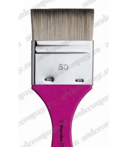 Кисть флейц № 50, синтетика, для художественных работ, Marabu Decoration&Hobby